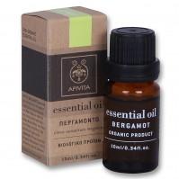 Apivita Essential Oil Bergamont Citrus Aurantium Bergamia 10ML