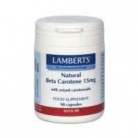 Lamberts Natural Beta Carotene 15Mg 90 Caps