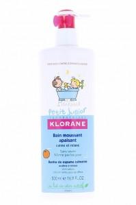 Klorane Petit Junior Bain Moussant Apaisant Vanille-Miel 500Ml