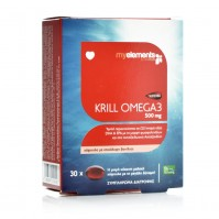 My Elements Krill Omega 3 500Mg 30 Softgels