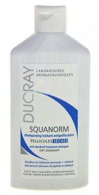 Ducray Squanorm Shampoo Για Ξηρή Πυτιρίδα 200Μl