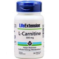 Life Extension L Carnitine, 500Mg, 30Veg.Caps