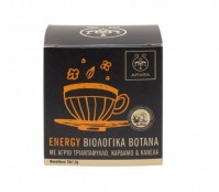 Apivita Organic Herbal Tea Energy Mε Άγριο Τριαντάφυλλο