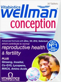 Vitabiotics Wellman Conception 30 Tabs