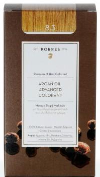 Korres Argan Oil Color Gold Honey Light Blonde 8.3