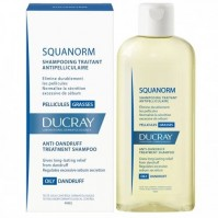 Ducray Squanorm Shampoo Για Λιπαρή Πιτυρίδα 200Μl