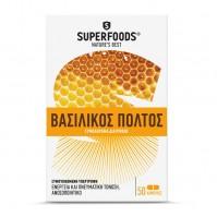 Superfoods Βασιλικός Πολτός Eubias 50Caps