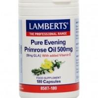 Lamberts Pure Evening Primrose Oil 500mg 180caps