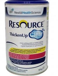 Resource Thicken Up Clear Powder 125Gr Πηκτικο Μεσο Υγρων Και Τροφων