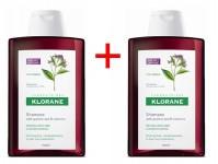 Klorane Shampoo Quinine Διπλή Συσκευασία -50%