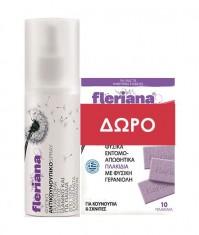 Power Health Fleriana Spray 100ml + Εντομοαπωθητικά Πλακίδια 10 Τεμάχια