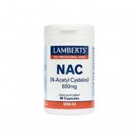 Lamberts N-Acetyl Cysteine (NAC) 600Mg 90 Caps