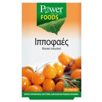 Power Health Foods Ιπποφαές 30 Caps