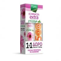 Power Health Echinacea Extra 24s Stevia & Δώρο Vitamin C 500mg