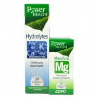 Power Health Hydrolytes 20 Effervescent Tabs + Magnesium 10 Effervescent Tabs