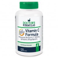 Doctor's Formulas Vitamin C 1000mg Formula Fast Action 120 Δισκία
