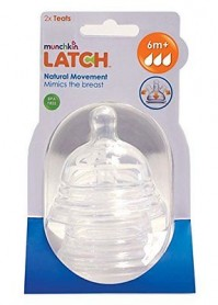 Munchkin 2 Pack Latch Stage 3 Teat