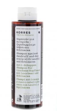 Korres Δάφνη & Echinacea Σαμπουάν 250Ml
