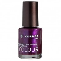 Korres Nail Colour Metallic Purple 79