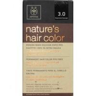 Apivita Nature S Hair Color N3,0 Καστανό Σκούρο