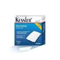 Kessler Stericlean 15x15cm 12 τεμάχια