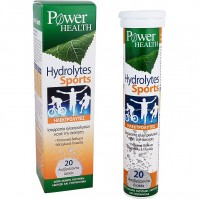 Power Health Hydrolytes Sports 20 Αναβράζοντα Δισκία
