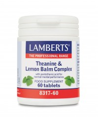Lamberts Theanine & Lemon Balm 60 Tabs