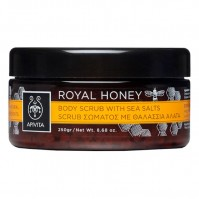 Apivita Scrub Σώματος Με Θαλάσσια Άλατα Royal Honey 200ml