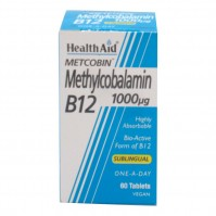 Health Aid Methylcobalamin B12 1000μg 60caps