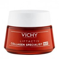 Vichy Liftactiv Collagen Specialist Nuit Vitamin C & Peptides & Resveratrol 50ml