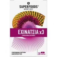 Superfoods Εχινάτσια x3 30 Caps