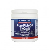 Lamberts Pure Fish Oil 1100Mg 120 Caps