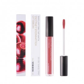 Korres Morello Voluminous Lipgloss Plump Lips 16 Blushed Pink 4ml