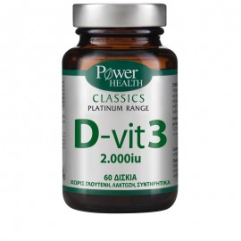 Power Health D-vit3 2000IU 60tabs