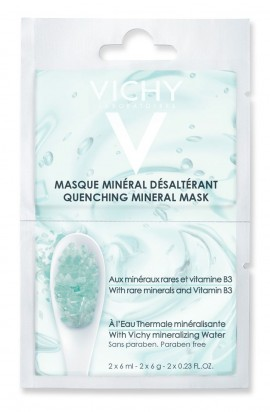 Vichy Quenching Mineral Mask Sachet 2x6ml