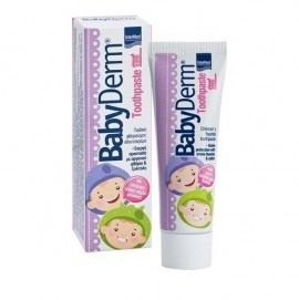 Intermed Babyderm Toothpaste Bubble-Gum Flavor 1000ppm 50ml