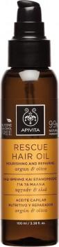 Apivita Λάδι Θρέψης και Επανόρθωσης για τα Μαλλιά με Αργκάν & Ελιά 100Ml