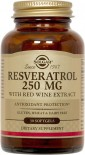 Solgar Resveratrol 250Mg 30 Softgels