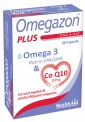 Health Aid Omegazon Plus Omega 3 & Q10 30Caps